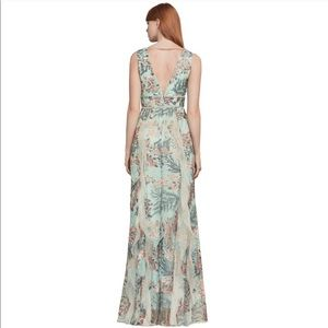 BCBGMaxAzaria Brea Enchanted Forest Gown
